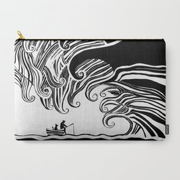 Dark Wave Carry-All Pouch
