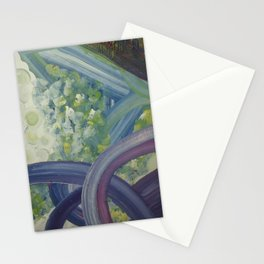 Loops and fluff Stationery Cards
