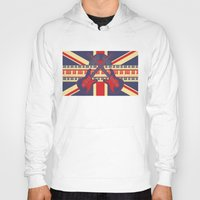 british Hoodies featuring British Rock by Ornaart
