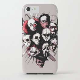Horror Heroes iPhone Case