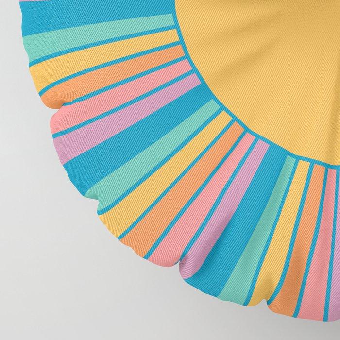 Sunshine State Floor Pillow