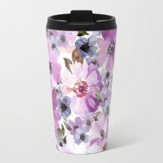 FLOWERS WATERCOLOR 15 Travel Mug