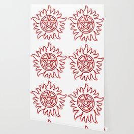 Anti Possession Sigil Red Glow Transp Wallpaper