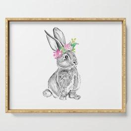 Bunny | Animal Illustration Serving Tray