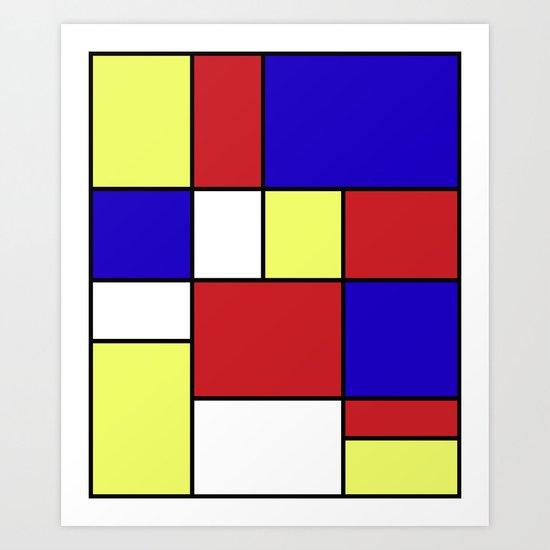 Abstract #406 Art Print