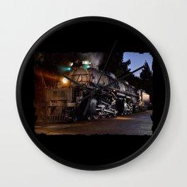 UP 4014. Union Pacific.  Steam Train Locomotive. Big Boy. © J. Montague. Wall Clock