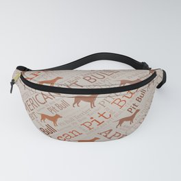 American Pit Bull Terrier Fanny Pack