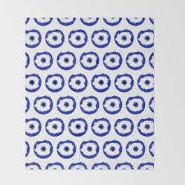 The Evil Eye Throw Blanket