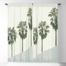Palm Trees 4 Blackout Curtain