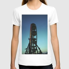 Ferris Wheel and the Flock of Birds T-shirt