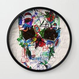 Ruzgars Skull Wall Clock