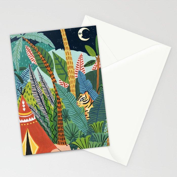 Jungle Tipi Tiger Stationery Cards