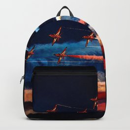 BEAUTIFUL AIRPLANE FORMATION1 Backpack