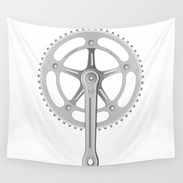 Campagnolo Track Chainset, 1974 Wall Tapestry