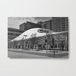Denver Urban Transit Center Metal Print
