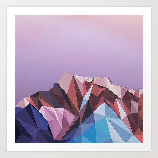 Night Mountains No. 41 Art Print