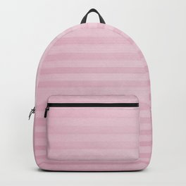 Vintage chic pink geometrical stripes pattern Backpack