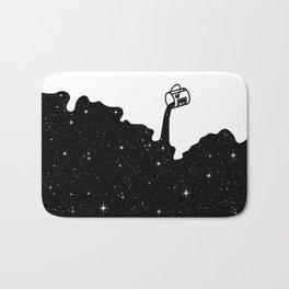 Space Paint Bath Mat