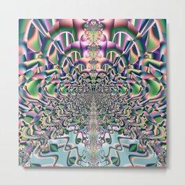 Fractal Abstract 82 Metal Print