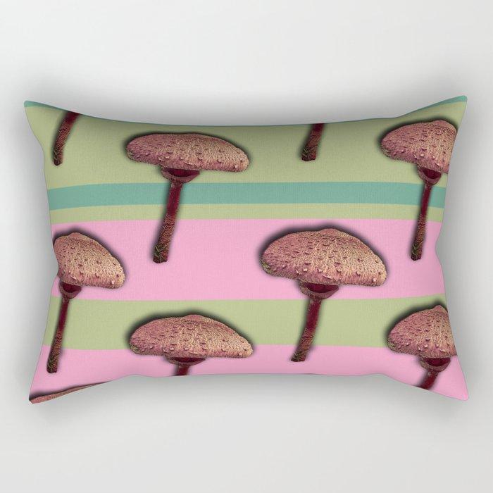 Mushroom Delight Rectangular Pillow