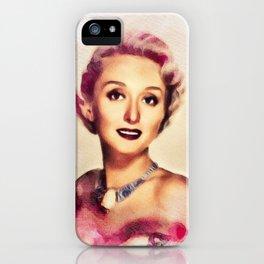Celeste Holm, Vintage Actress iPhone Case