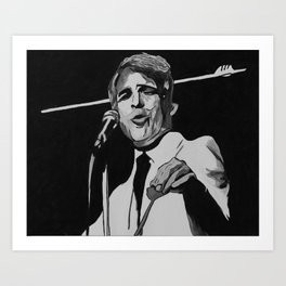 A Wild and Crazy Guy! Art Print