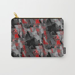 Red Tile Carry-All Pouch