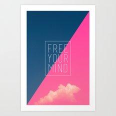 Free Your Mind III Art Print