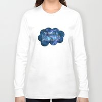 the fault Long Sleeve T-shirts featuring The Fault In Our Stars by CATHERINE DONOHUE