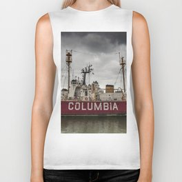 The Lightship Columbia Biker Tank