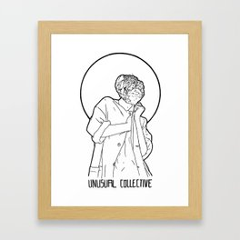 Mineral Woman Framed Art Print