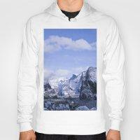 yosemite Hoodies featuring Yosemite by Ian Bevington