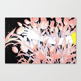 Ouch. Canvas Print
