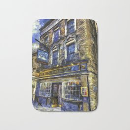 The Prospect Of Whitby Pub Art Bath Mat