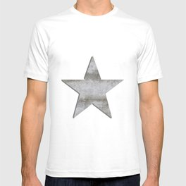 Solid Star in grey conrete T-shirt