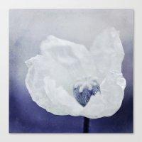 indigo Canvas Prints featuring INDIGO by Iris Lehnhardt