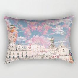 Floral Fireworks Rectangular Pillow