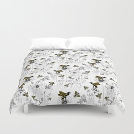 bees knees Duvet Cover