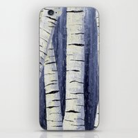 birch iPhone & iPod Skins featuring Birch by Sarah Yee