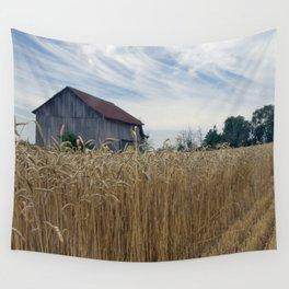 Ohio barn Wall Tapestry