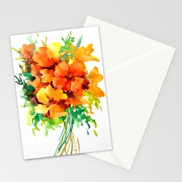 Californian Poippies Stationery Cards