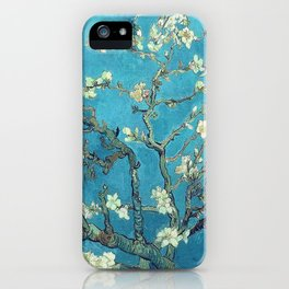 Branches with Almond Blossom - Vincent van Gogh iPhone Case