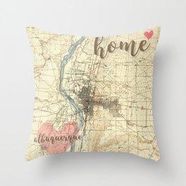 Love Albuquerque Throw Pillow