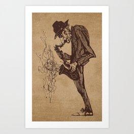 Jazzman Art Print