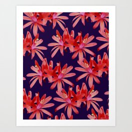 MATUCANA IN NAVY Art Print