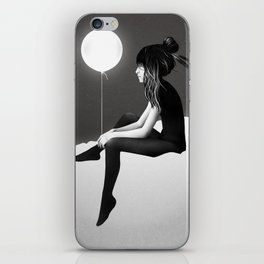 No Such Thing As Nothing (By Night) iPhone Skin