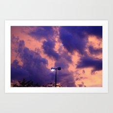 clouds(still) Art Print