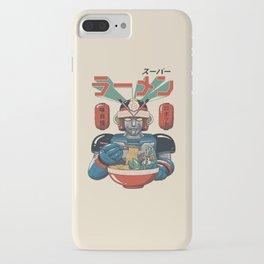 Super Ramen Bot iPhone Case