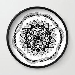 Rebirth Mandala Wall Clock