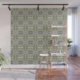 Coleus Quiet Gray Pattern Wall Mural